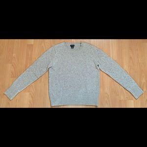 Club Monaco Women's Wool Sweater Oatmeal Tan Large